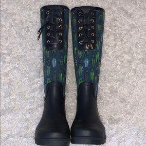 💧Tory Burch Lana Lace Up Rainboot 💧